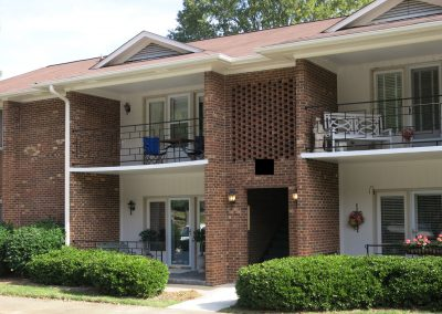 Two story Townhome buildings in Greensboro
